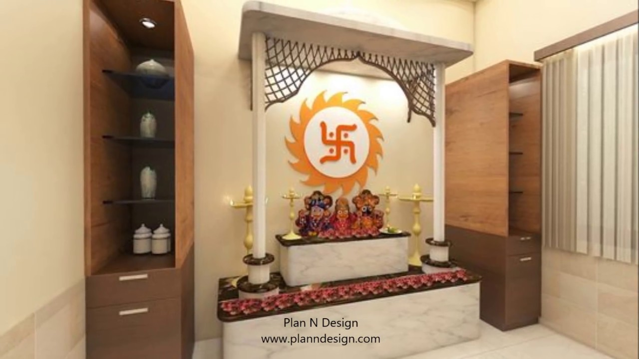 Top 40 Indian Puja Room and Mandir Design Ideas (Part-2)- Plan n ...