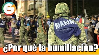 ¿Por qué se humilló la Marina? #FridaSofia