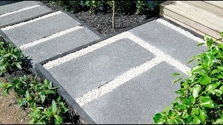 How to Make Exposed Aggregate Pavers | Mitre 10 Easy As