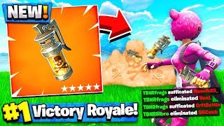 *NEW* Fortnite STINK BOMB GAMEPLAY! - Fortnite Battle Royale (OVERPOWERED!)
