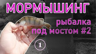 МОРМЫШИНГ СТРИТФИШИНГ Рыбалка под мостом 2