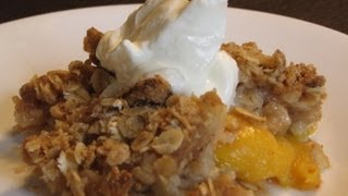 Easy To Make Dessert Recipes - Easy Peach Cobbler Recipe