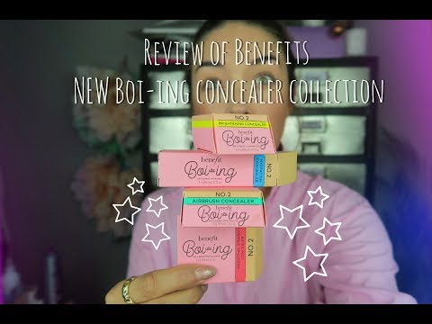 Benefit's NEW Boi-ing concealer Review & How to use each of them!
