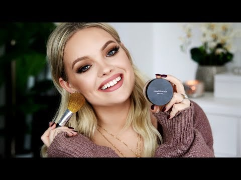 HOW TO FULL COVERAGE FLAWLESS FACE - bareMinerals Original Foundation