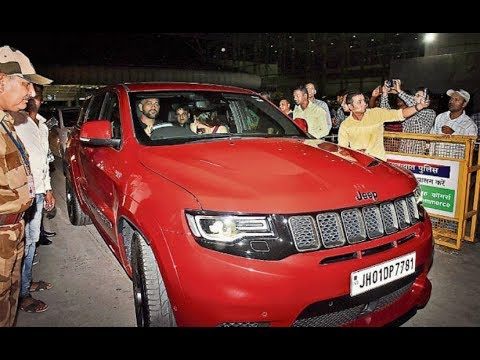 Dhoni Takes Out Grand Cherokee Trackhawk 6 2 On Indian Roads