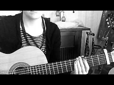 Miley Cyrus, these 4 walls, Tutorial, Gitarre, Guitar, how to play ...