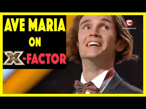 Alexander iUpatov Sings Ave Maria on X-Factor and goes to Final Stage !