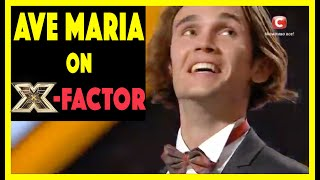 Alexander iUpatov Sings Ave Maria on X-Factor and goes to Fi...