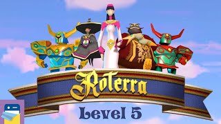 Roterra - Flip the Fairytale: Level 5 Walkthrough & iOS / Android Gameplay (by Dig-It Games)