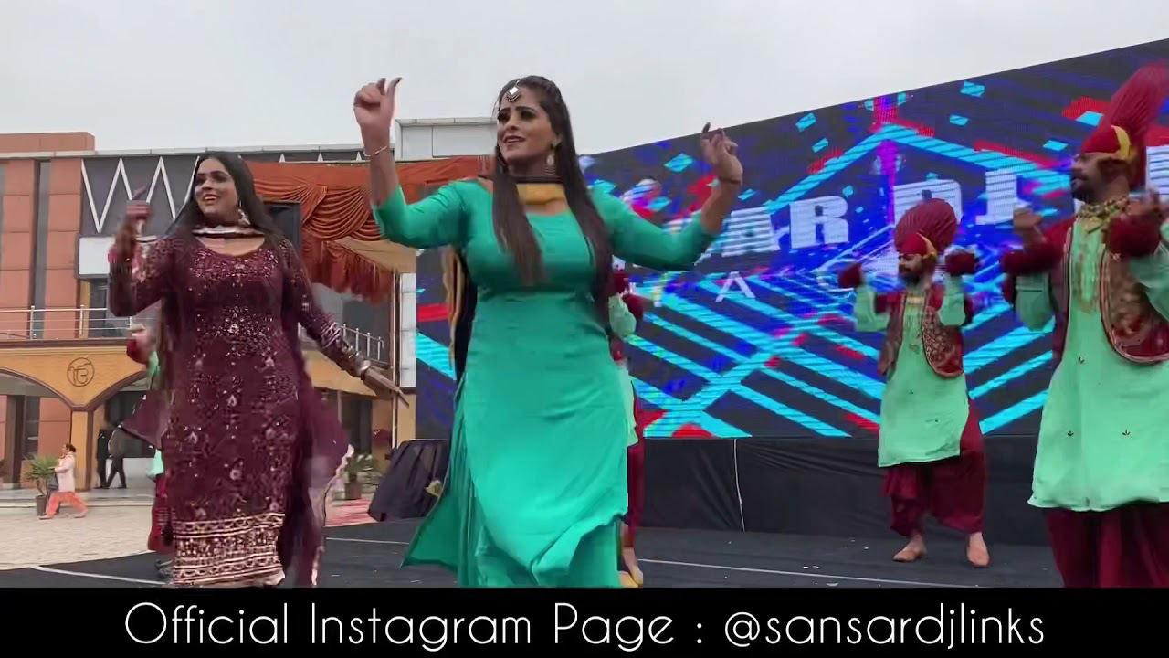 Best Orchestra Dancer | Sansar Dj Links | Beautiful Punjabi Dancer 2021 | Best Dj In Punjab 2021