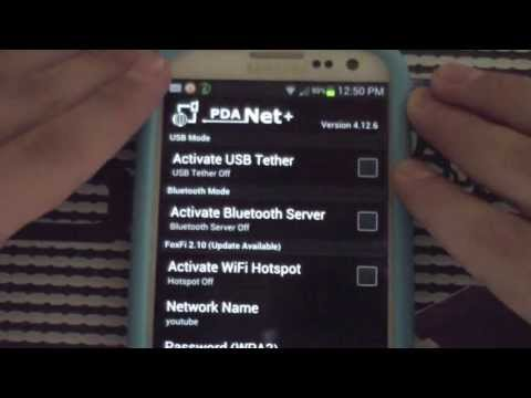 FREE WiFi Hotspot/Tethering for ALL Devices (PDANet+/Foxfi) NO ROOT