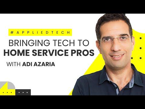 Bringing Tech to Home Service Pros | Adi Azaria from Workiz