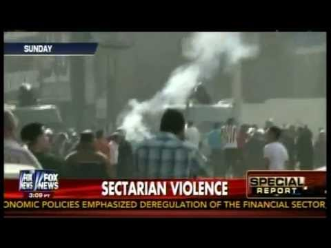 "Egypt ,Sectarian Violence "" Christian & Muslim "" Killed !"