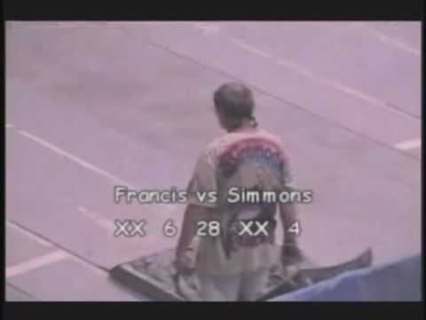 Alan Francis vs Brian Simmons Pt. 1