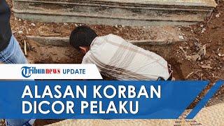 Alasan Pelaku Membunuh PNS Kementerian PU yang Jenazahnya Dicor, Berawal dari Jual Beli Mobil