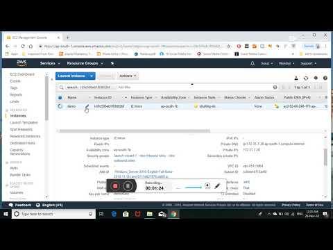 Delete or Terminate AWS Windows EC2 instance - AWS