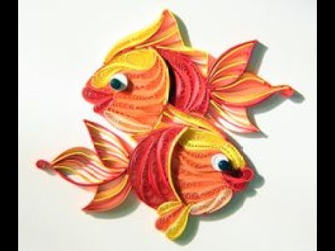 Quilling Fish Youtube