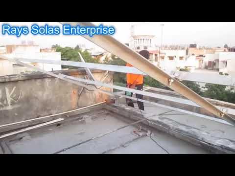 5 kw rooftop solar setup