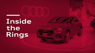 homepage tile video photo for Inside the Rings: New York International Auto Show / 2019 Audi A6 / 2019 Audi e-tron SUV