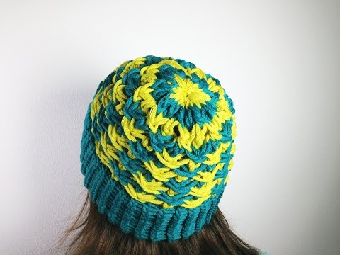 How to Loom Knit a Star Stitch Hat (DIY Tutorial)