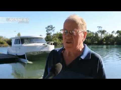 NBN News - Local Entrepreneur Unveils World-First Boat
