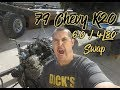 LQ4 / 4l80E Swap | Pulling the donor | Chevy K20 | LS Fest West Bound 2018