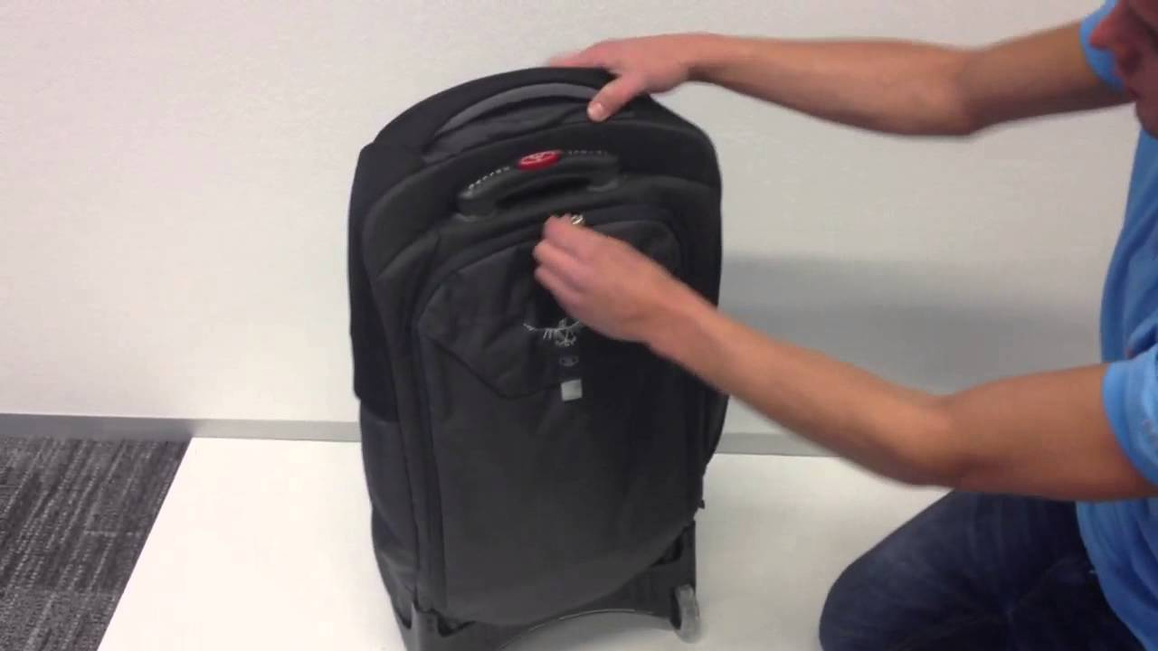 Osprey Sojourn 80 Metal Grey Trolley - YouTube 5da3403157bbd