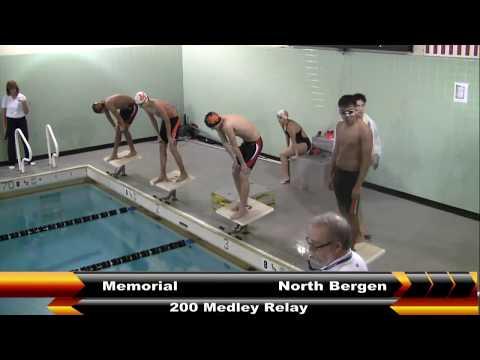 MHS SWIMMING VS NORTH BERGEN 1-11-18