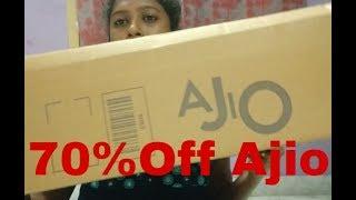 AJIO Shopping Haul 70% Off