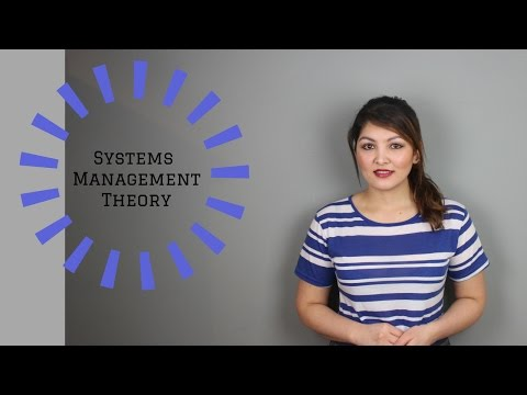 Systems Management Theory (Evolution of Management Theory - Lesson 8 of 9)