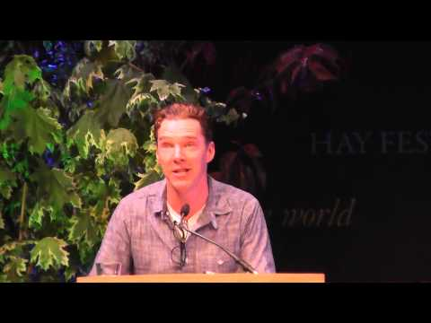 1 of 2  Benedict Cumberbatch and Louise Brealey read Chris and Besse at Letters Live, Hay Festival