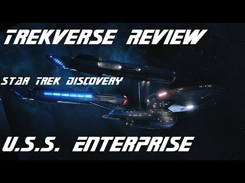 U.S.S. Enterprise from Star Trek Discovery Season Finale-TrekVerse Review