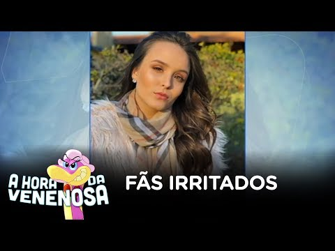 Fãs de Larissa Manoela declaram guerra à Whindersson Nunes