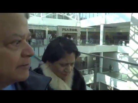 Aruna & Hari Sharma Shopping at Pentagon Fashion Centre, Pentagon City, Arlington VA, Feb 14, 2016