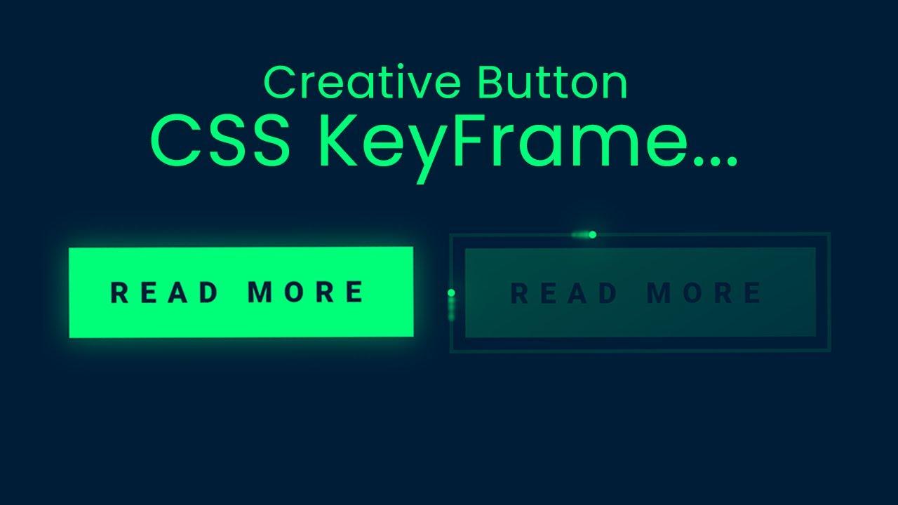 Creative CSS Button Effect using CSS Keyframe - CSS Tricks