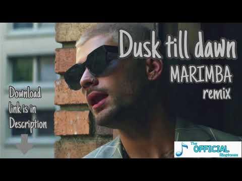 Zayn - Dusk Till Dawn Ft.Sia - The Best Marimba Remix Ringtone For IPhone