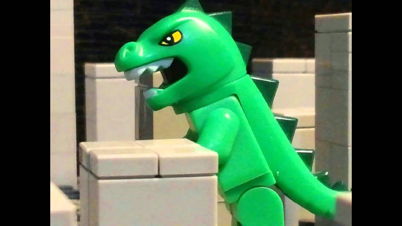 lego godzilla how to build