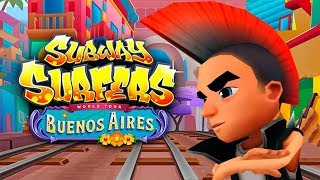 SUBWAY SURFERS BUENOS AIRES (SPIKE) RECORD HIGH SCORE MEGA RUN GAME PLAY