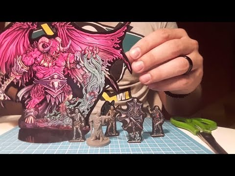 Building it up: My steps to build Paper Minis for Tabletop RPGs