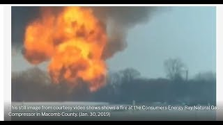 Extreme Cold -- Natural Gas Plant Explodes