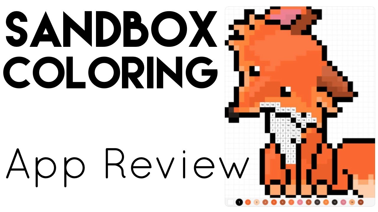 Sandbox Coloring App Review