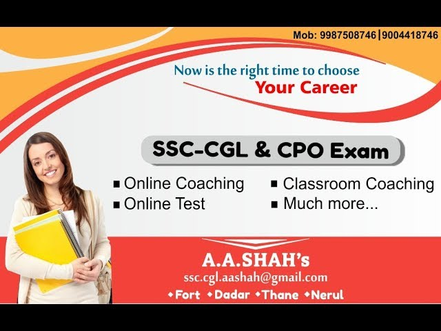 SSC CGL 2018 Exam: Learn Mantra to crack