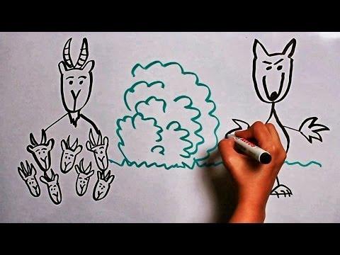 Сказка Волк и семеро козлят - Русская народная сказка