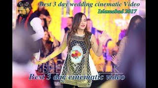 Best Pakistani 3 day wedding Cinematic Video in Islamabad 2017 . watch till end. Maha and Zeeshan