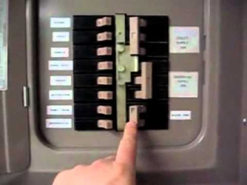 Amp Wiring Diagram Generator Transfer Switch Connecting With A Manual Or