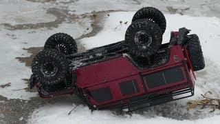 Land Rover Defender 110 опоздал но ПЕРЕВЕРНУЛСЯ первым МЕГА-УАЗ устоял off road 4×4