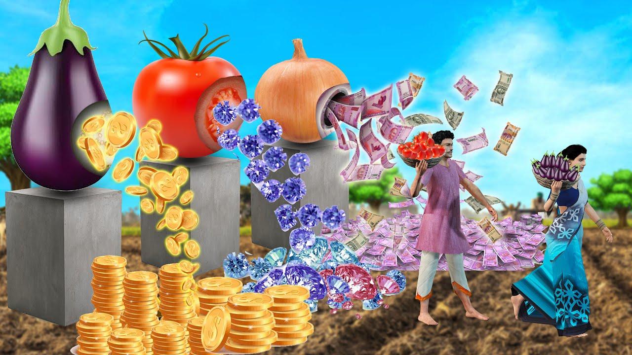 మాయ పొలం  Magical  Farm   Telugu Stories   Telugu Kathalu   Telugu Comedy videos   Grandma tv telugu