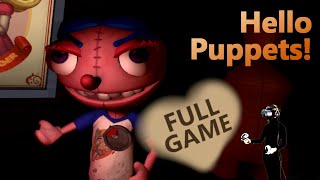 Hello Puppets VR - I'm just a host, the puppet is running the show | Walkthrough