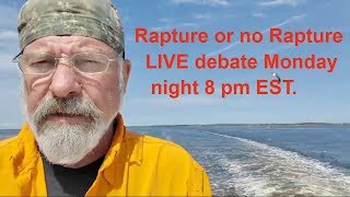 Gambar cover Rapture DEBATE Monday, 08 April Meet The Bible LIVE. Brenda Weltner & me. Please JOIN us will you?