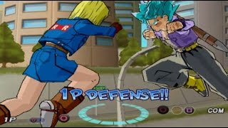 Dragon Ball Dark Saiyan Super Androide 18 vs Trunks ssjgss